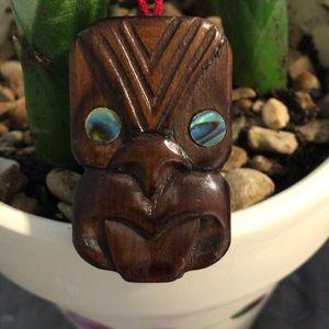 🦋New Listing🦋Vintage Māori Carved Necklace